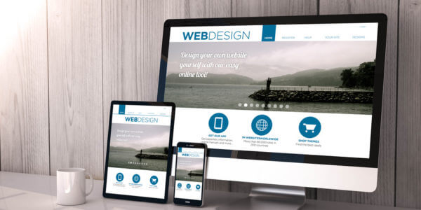Responsive-WebDesign am Beispiel von verschiedenen Displaygrößen