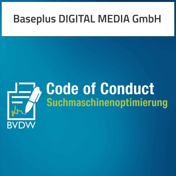 BVDW Code of Conduct - Baseplus