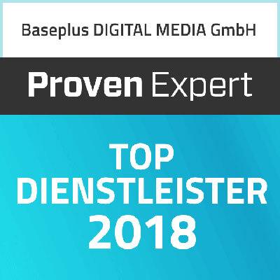 Proven Expert Top Dienstleister 2018