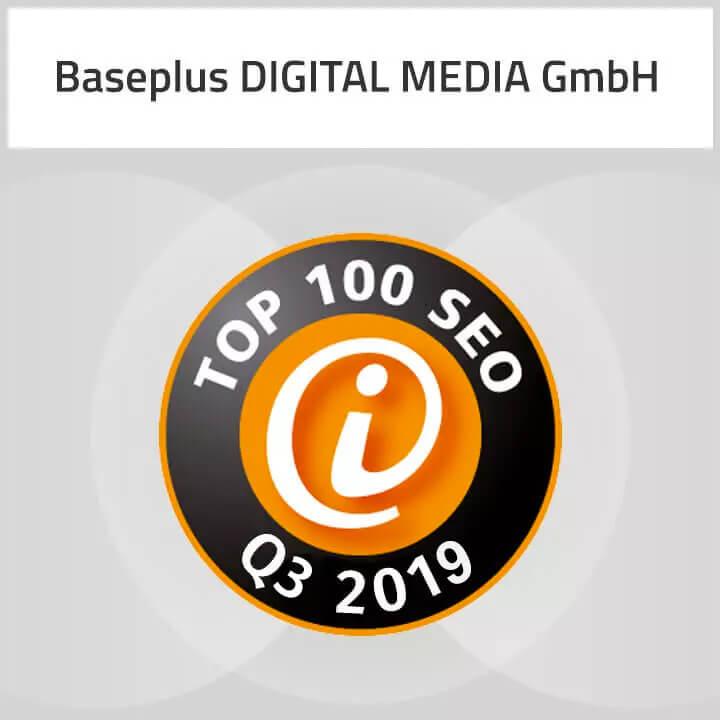 Top 100 SEO Q3 2019