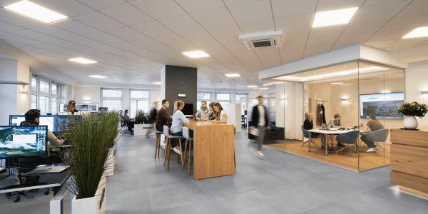 baseplus Büro mit Mitarbeitern